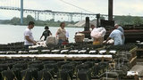 Crews prepare for liftoff of Ford Fireworks