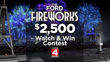 You could win $2,500 during the Ford Fireworks