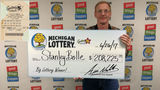 Man wins more than $200K from Michigan lottery with Fantasy 5 jackpot