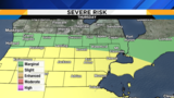 Monitoring severe storm risks Thursday and Friday in Metro Detroit