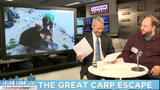 Jason Carr Live: Great Carp Escape, solar flares and special guest Corey Hall