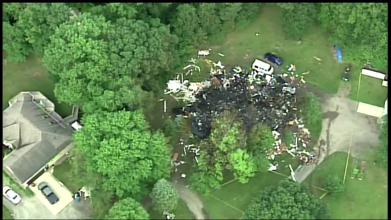 Video Orion Township House Explosion Aftermath