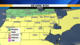 Severe storms possible Thursday and Friday in Metro Detroit