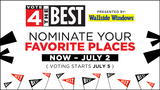 Nominations end today in Local 4's Vote 4 the Best
