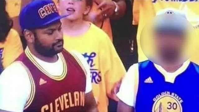 Mashiyat Rashid at NBA Finals courtside