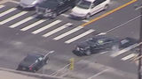 VIDEO: Los Angeles chase ends in crash&#x3b; suspect attempts to flee on foot