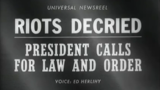 Universal Newsreel describes Detroit after the fourth day of riots