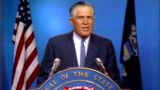 Gov. Romney addresses the state after Detroit riots are contained