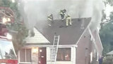 Father rescues children from house fire on Detroit's east side