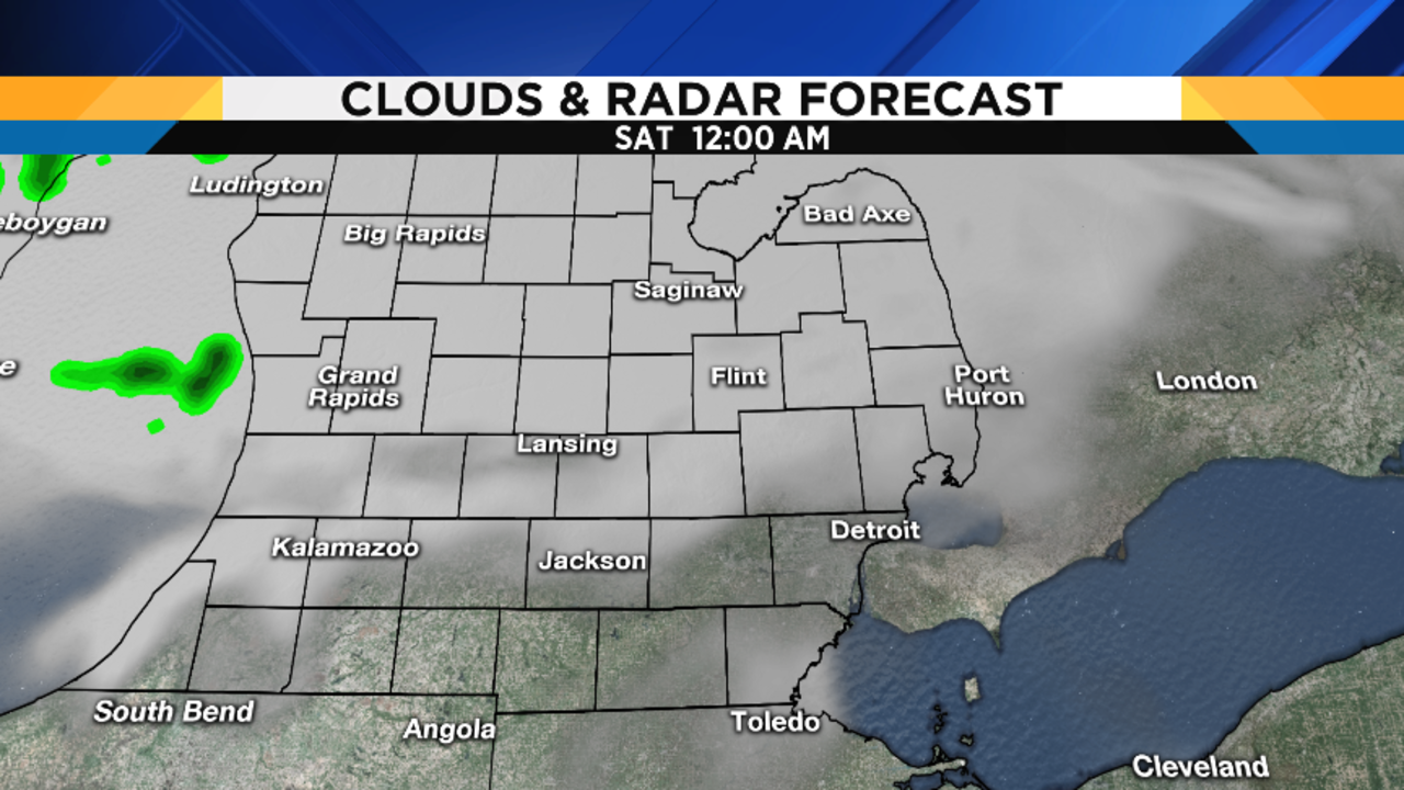 Metro Detroit Weather Forecast Honing In On Tonights Severe - Us weather radar forecast map
