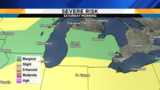 Metro Detroit weather forecast: Honing in on tonight's severe storm threat