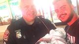 Police officers deliver baby in vehicle at Van Buren Township gas station