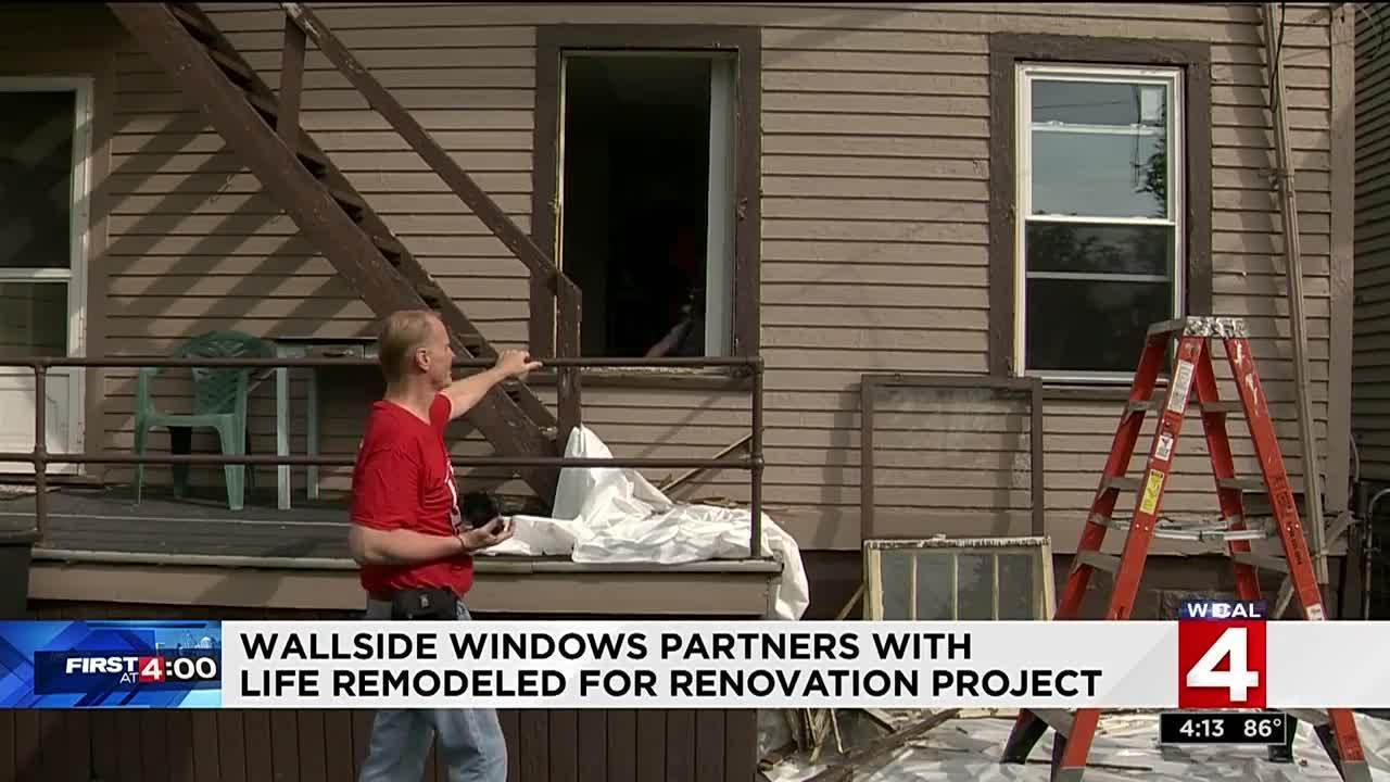 Life remodeled and wallside windows team up to renovate for Wallside windows