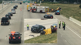 Deadly rollover on I-96 in Livonia: Hartland man killed, officer injured