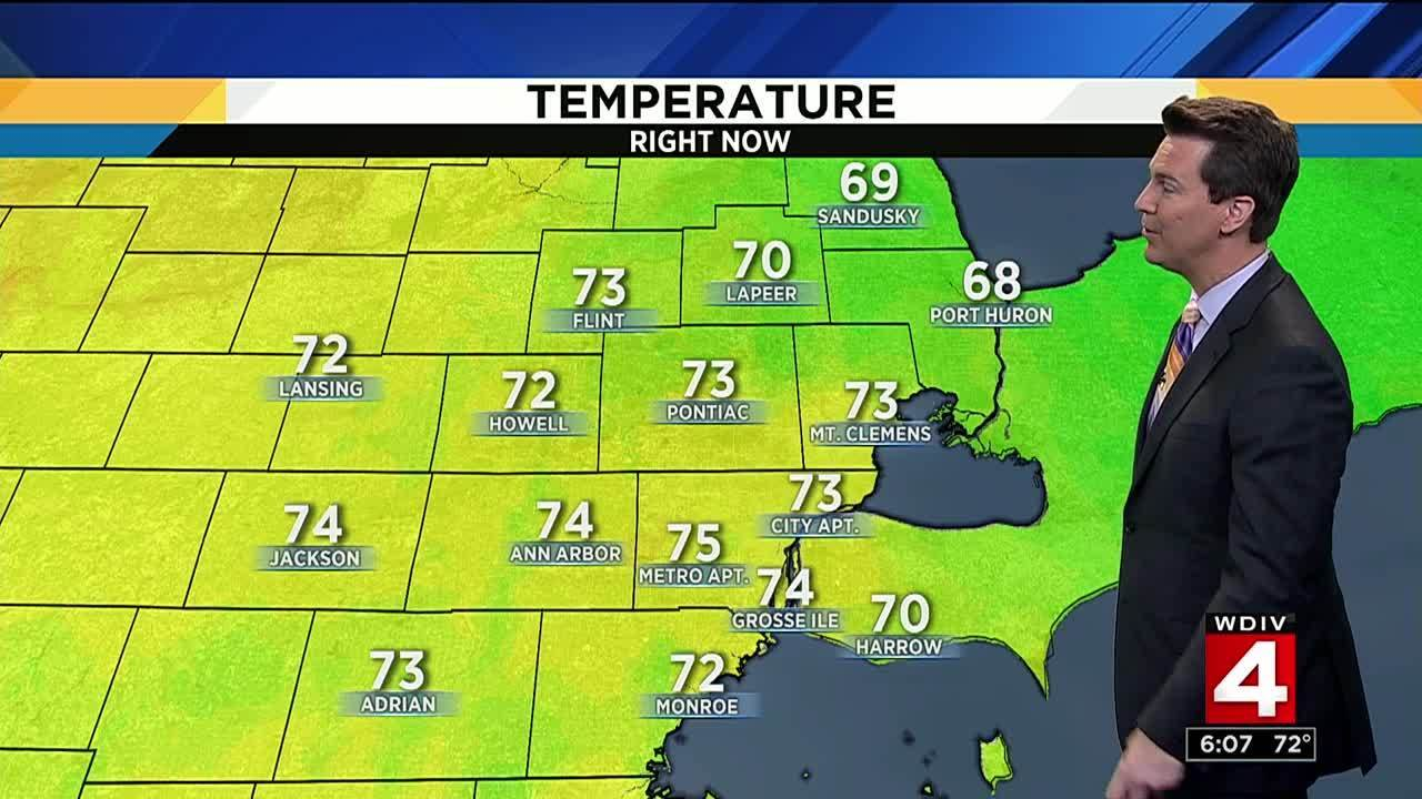 Metro Detroit Weather Humidity Returns After Cool Start To Week