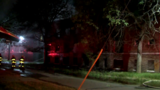 Crews battle 3-alarm fire at vacant apartment building on Detroit's west side