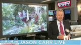 Jason Carr Live: Hail in spain, giant snail, and the corpse flower bloomed