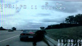 Livonia police dashcam video shows moment of deadly rollover crash on I-96