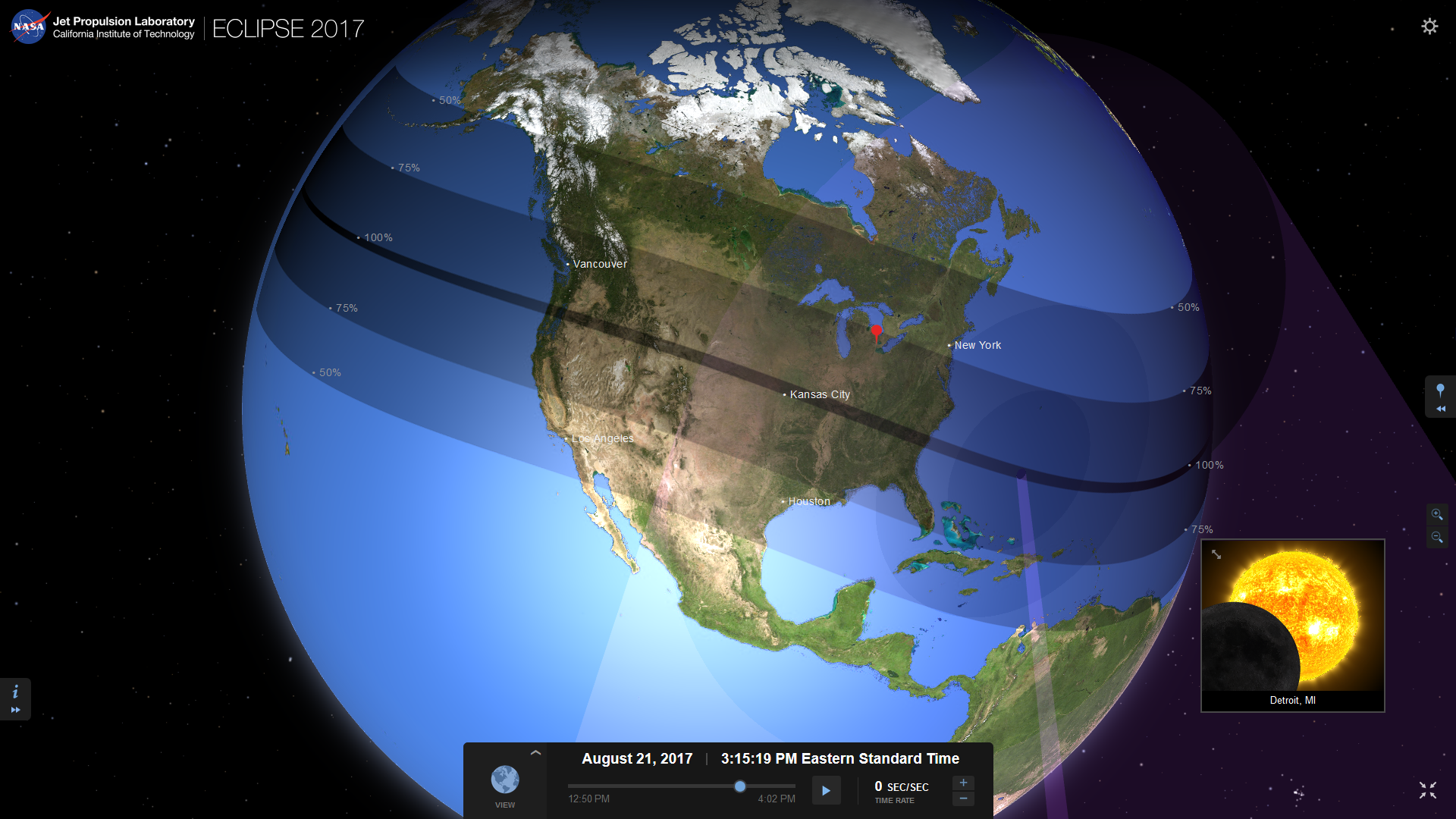 Nasa Interactive Solar Eclipse Map.Solar Eclipse August 21 Here S Everything You Need To Know