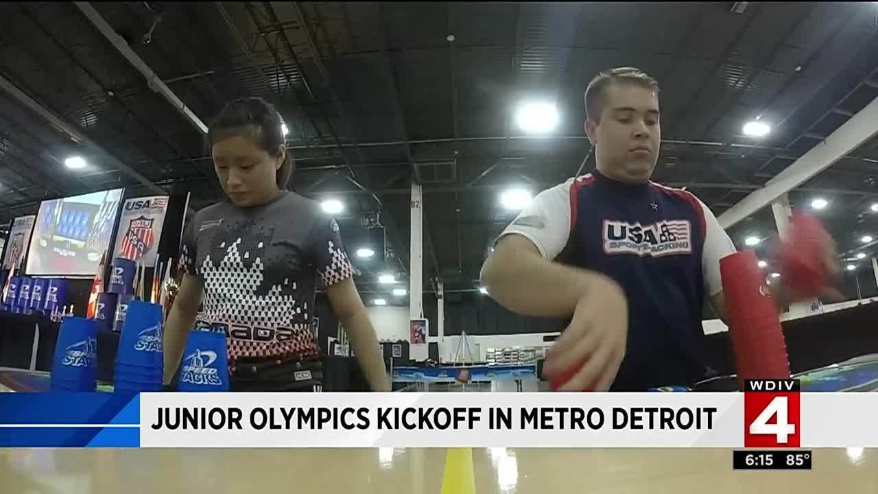 Young athletes gather in Novi for AAU Junior Olympics kickoff