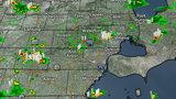 LIVE RADAR: Rains moving over Metro Detroit