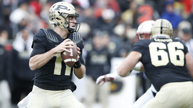 Purdue Boilermakers football David Blough 2016