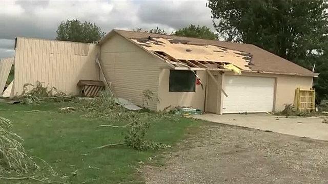 Tuscola County Kingston tornado house damaged