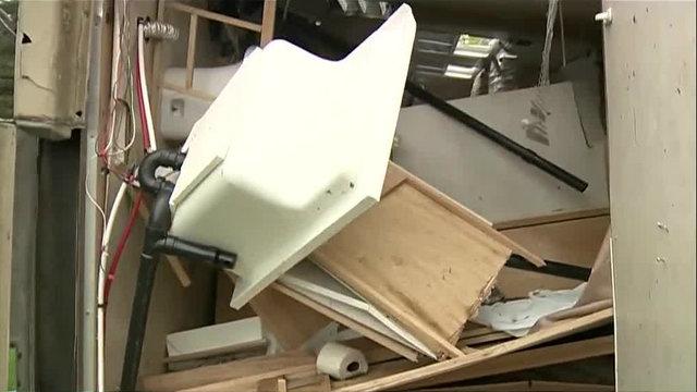 Tuscola County Kingston tornado trailer ruined