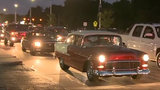 Thousands of car lovers hit Woodward for Dream Cruise