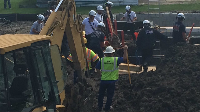 Trench rescue Chesterfield Township 4