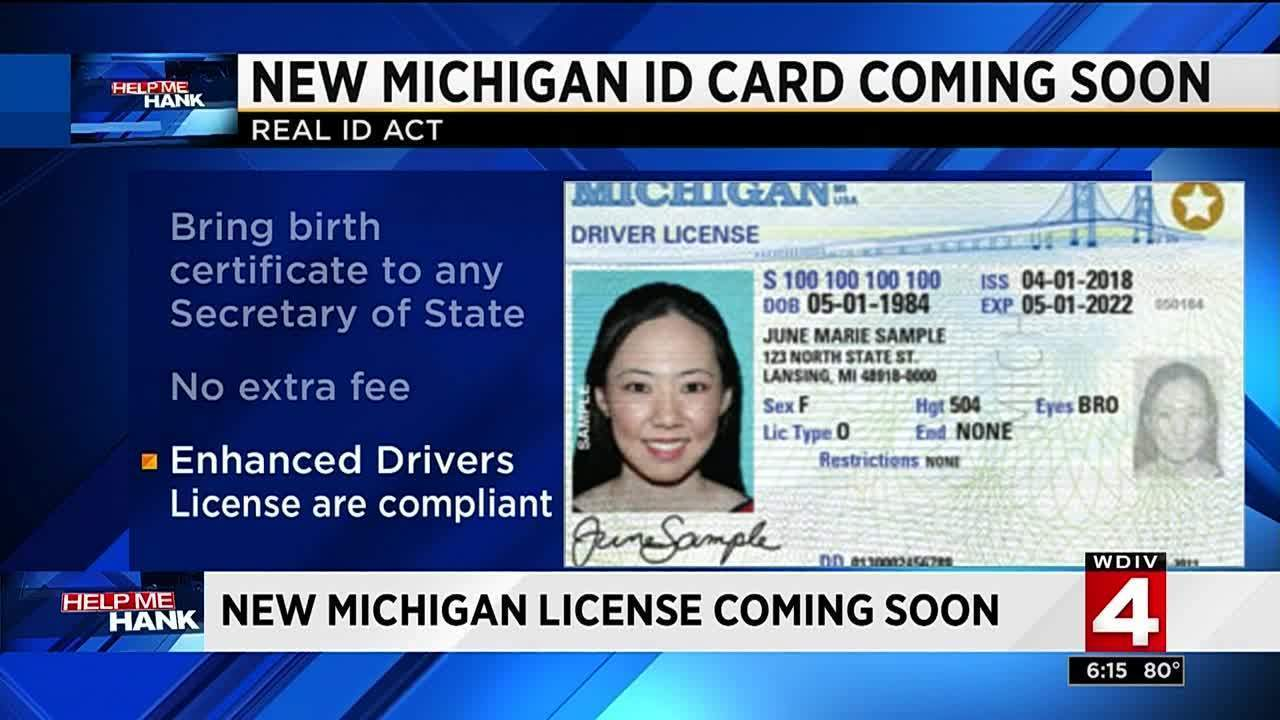 Why you may need to apply for a new michigan license id card for Michigan out of state fishing license