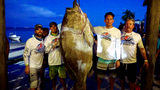LOOK: Florida firefighter catches record-setting 409-pound grouper