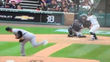 VIDEO: Tigers' James McCann hit in head with 98 mph fastball after brawl&hellip&#x3b;