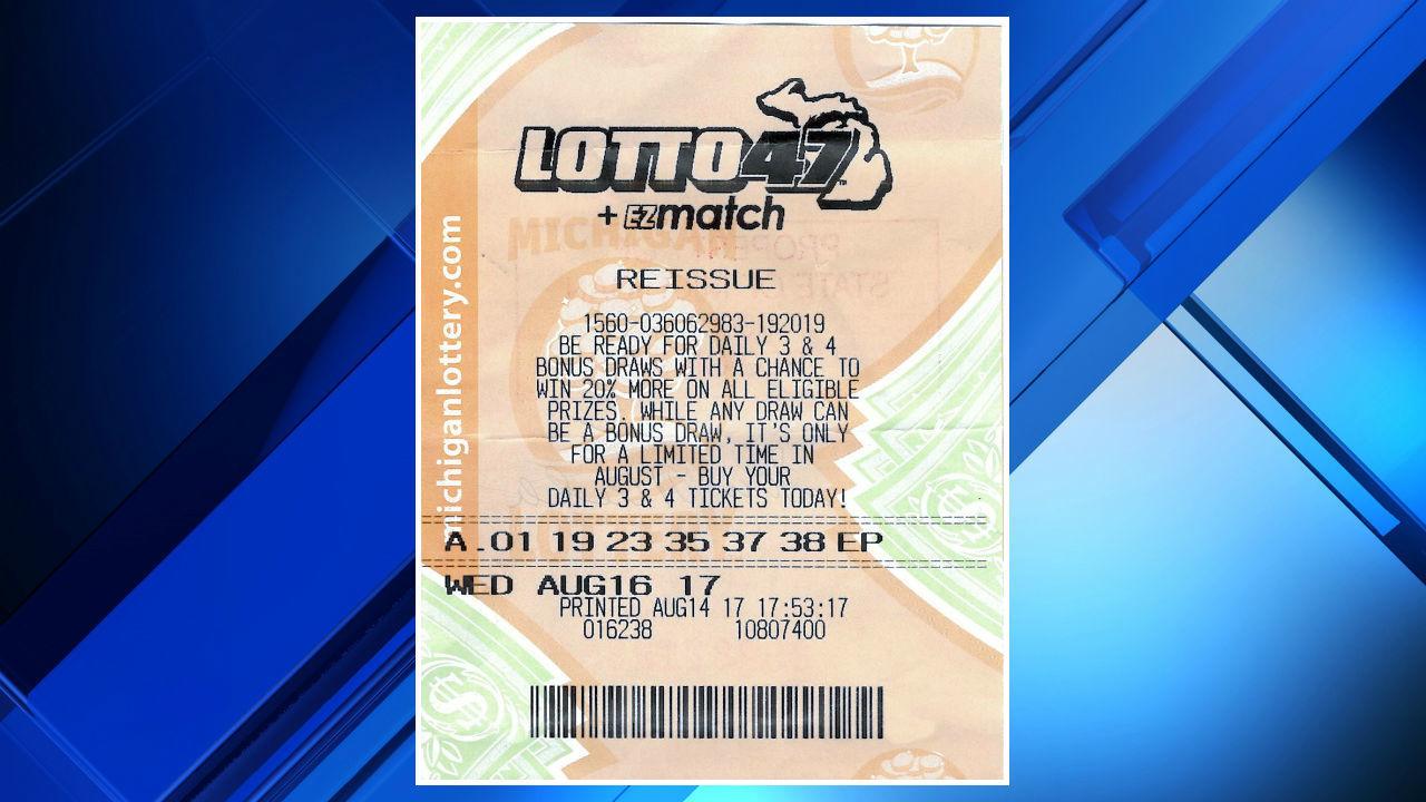 21-year-old Monroe County woman wins $1.8 million Lotto 47 jackpot from Michigan Lottery