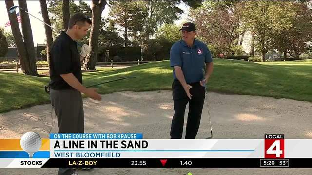 On the Course with Krause: A line in the sand