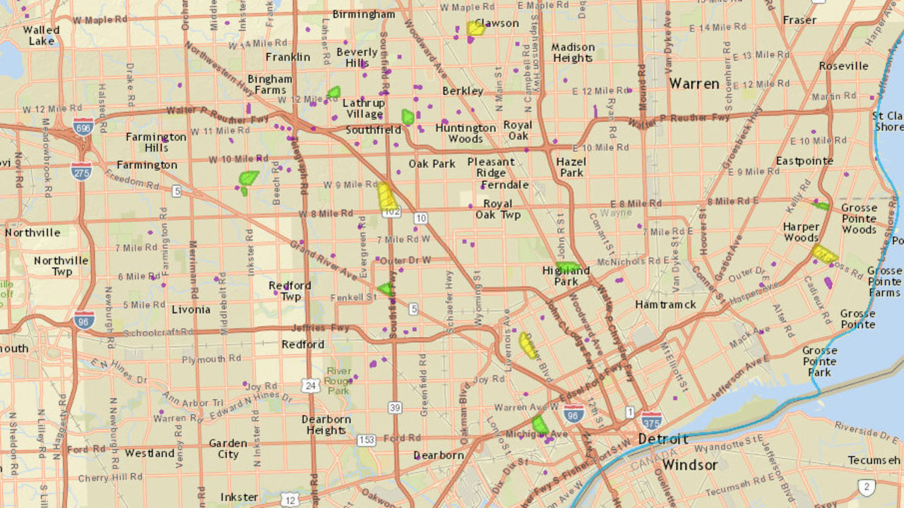 Dte Outage Map