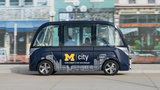 University of Michigan readies for launch of driverless shuttles