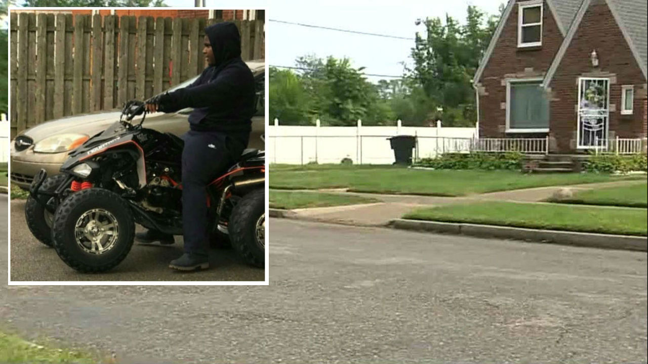 What we know about detroit teen 39 s deadly atv crash as state for Domon remembrance