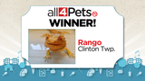 All 4 Pets contest winner announced