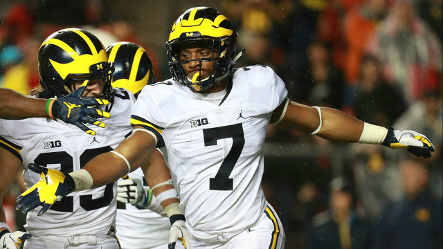 Khaleke Hudson is Michigan football's most important defensive player…