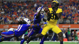 Young tight ends show promise in Michigan football's win over Florida