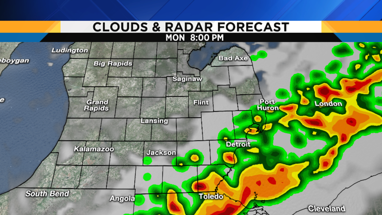 Storms expected later; severe weather possible