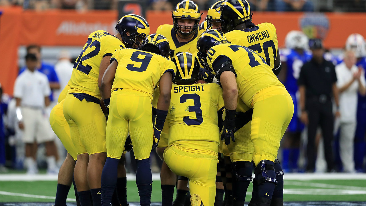 Top 25: Ty Isaac, Michigan Wolverines rush past Cincinnati Bearcats
