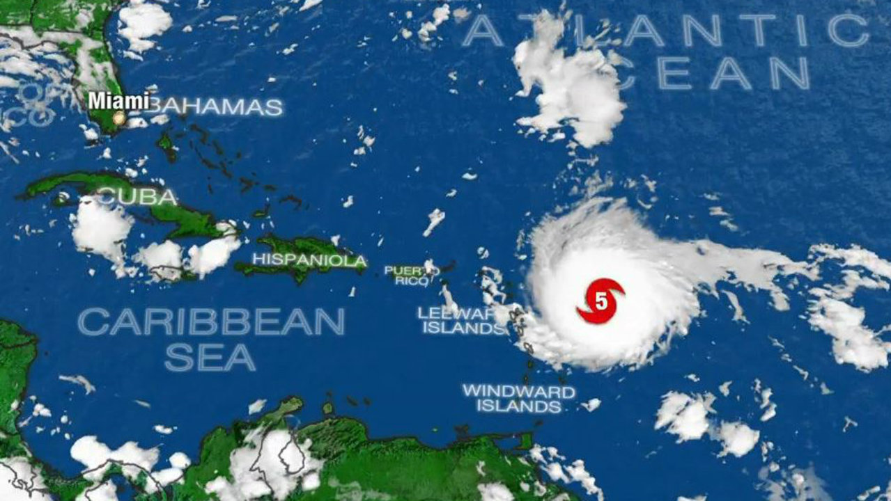 LIVE STREAM: Hurricane Irma on weather radar