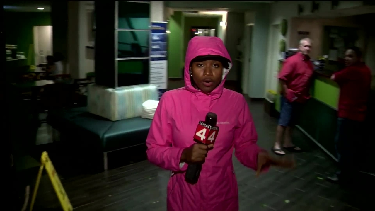 Local 4's Koco McAboy reports from Irma-battered Florida