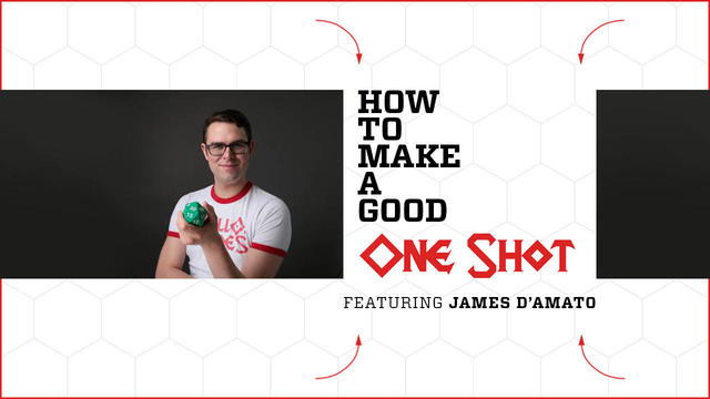 James D'Amato tells how to make a good one shot