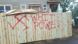 Person who painted racist graffiti on Royal Oak homes will not face&hellip&#x3b;