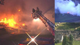 Fire destroys Scorpions Motorcycle Club