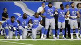 Detroit Lions players link arms, kneel before game after Trump's&hellip&#x3b;