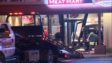 Car crashes into meat market in Sterling Heights with employees inside